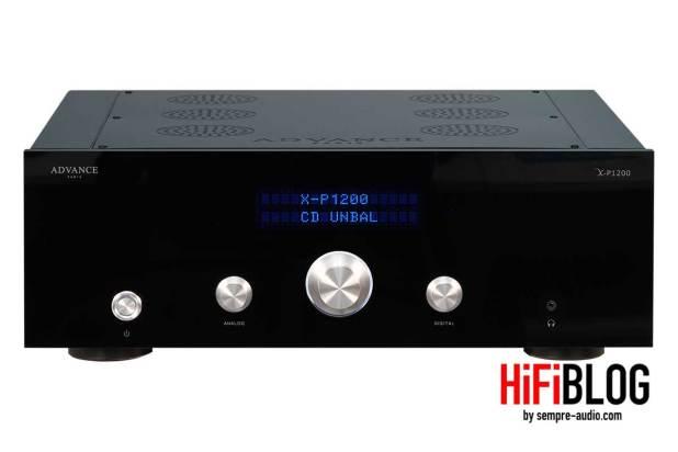 Advance Paris X P1200 Dual Mono HiFi Preamplifier 01