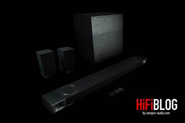 Klipsch Cinema 1200 Dolby Atmos 5 1 4 Sound Bar 06