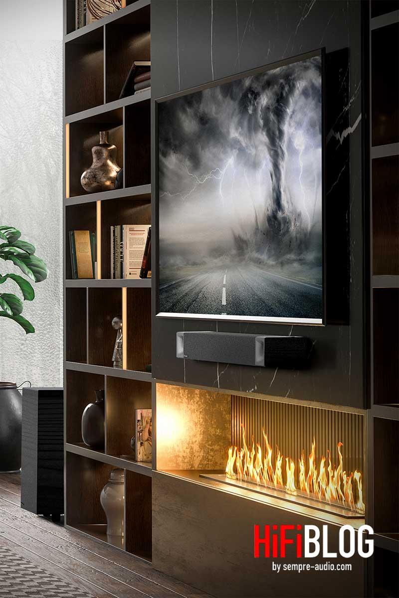 Klipsch Cinema 800 Dolby Atmos 3 1 Sound Bar 03