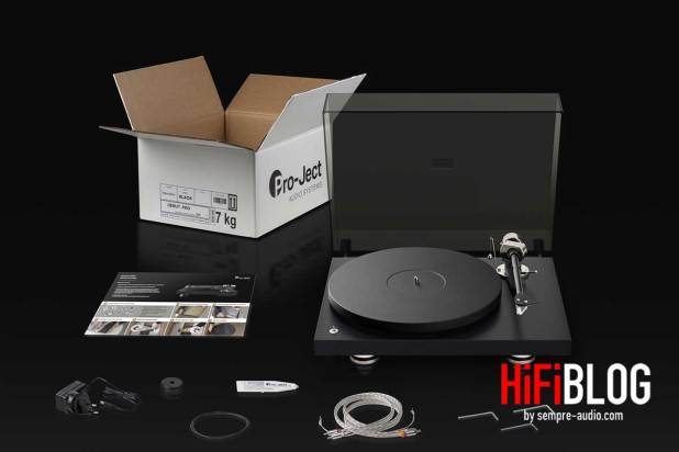 Pro Ject Debut PRO 30th Anniversary Turntable 12