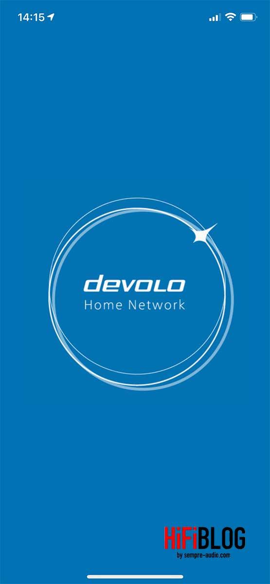 devolo Home Network App Screen 1