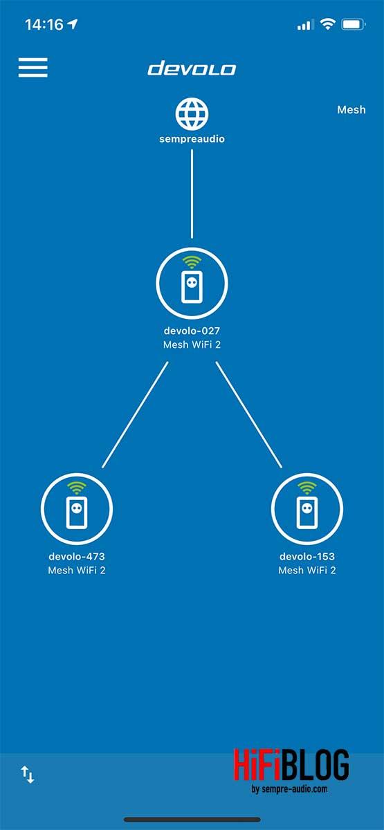 devolo Home Network App Screen 6