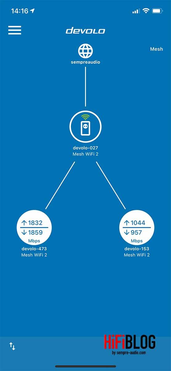 devolo Home Network App Screen 7