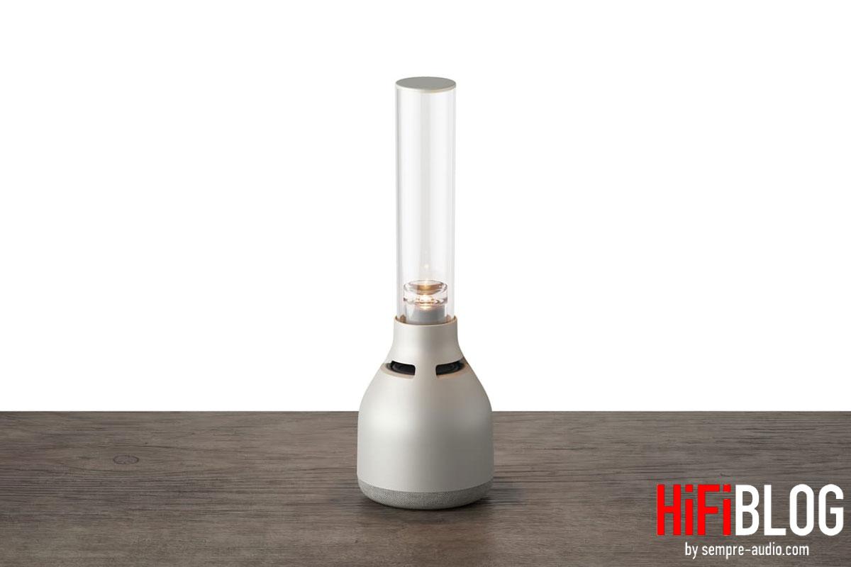 Photo © Sony Corporation - Sony LSPX-S3 - Wireless Glass Speaker