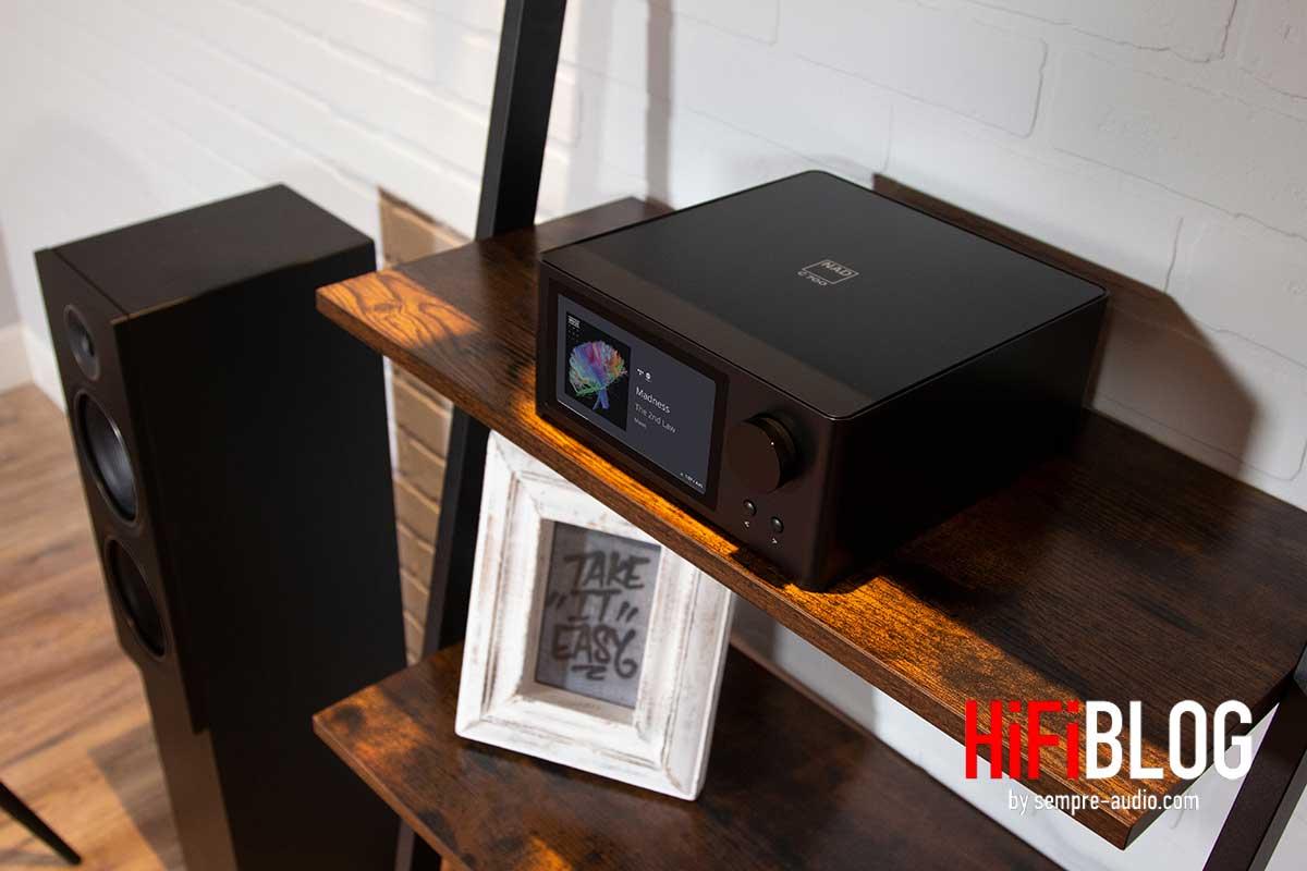 Foto © NAD Electronics International | NAD C 700 BluOS Streaming Amplifier