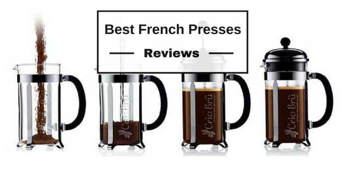 french press coffeemaker review