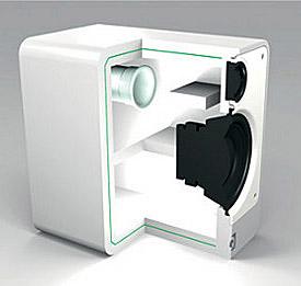 Q Acoustics Concept 20 feher