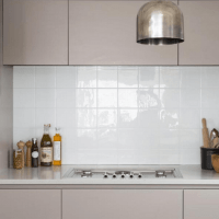 Kitchen Hygiene Tile Panels - Kitchen Tile Panels - Kitchen Wall Cladding - Acrylic Capped Splash Backs