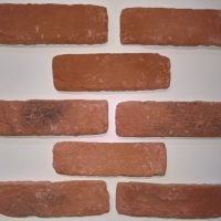 Brick Wall Veneers - Rustic Brick Facings - Reclaimed Effect Brickslips - Faux Brick Cladding