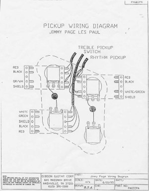 Higgs Communications  Jimmy Page Les Paul Wiring Diagram