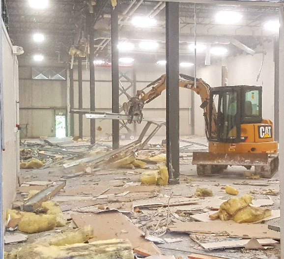 Production Avenue Renovation for MEDC Begins - High-Profile Keene