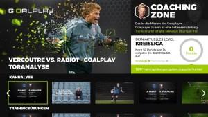 Anstoß für Goalplay auf Samsung Smart TVs