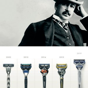 Gillette und der Skinguard Sensitive gegen Hautirritationen. Sponsored.
