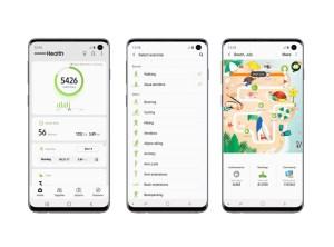 Im Sommer mit Samsung Health fit bleiben