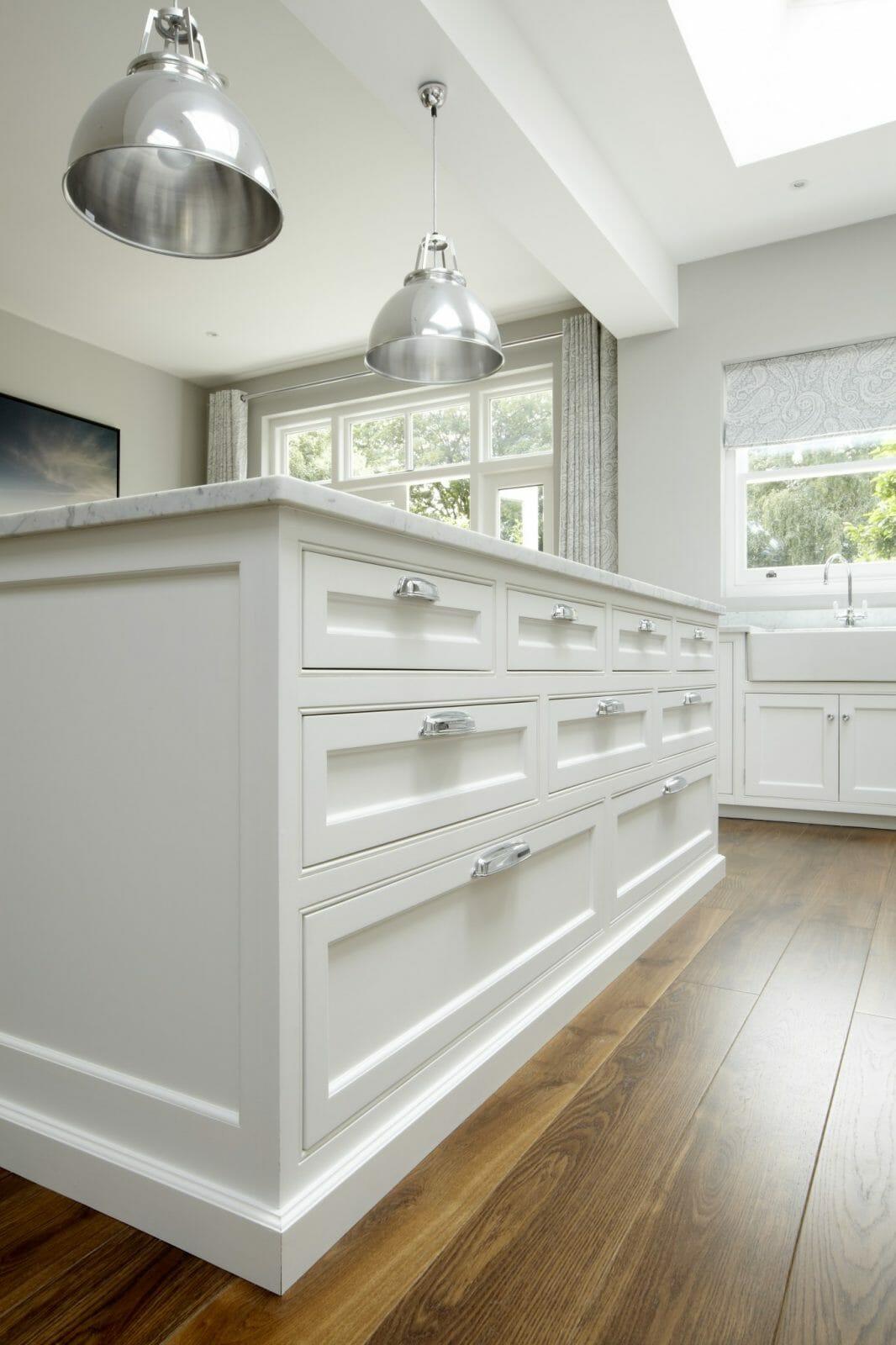 Small All White Kitchen