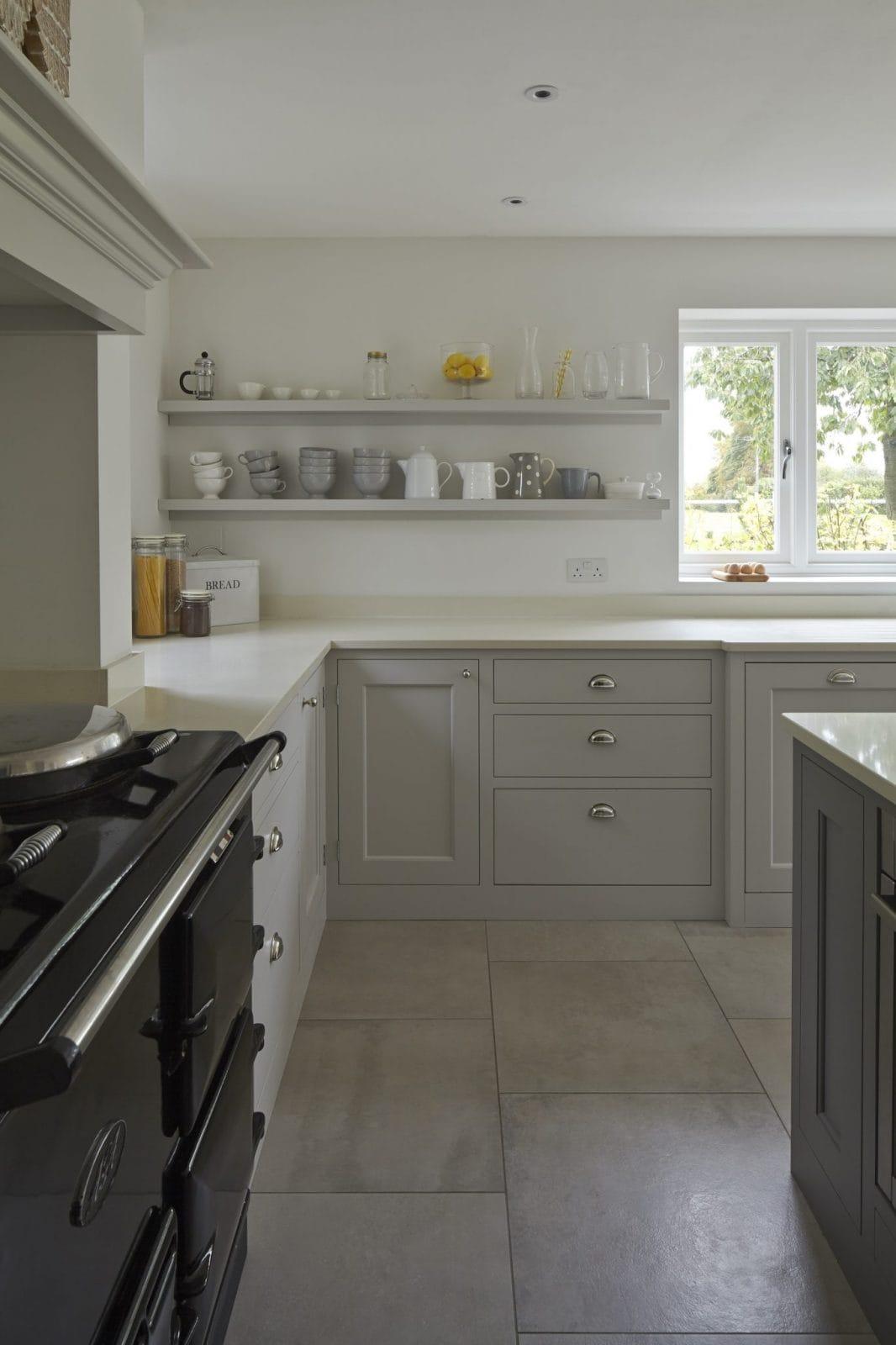 Ware Hertfordshire Bespoke Painted Kitchen Higham Furniture