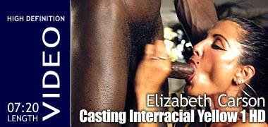 Elizabeth Carson - Interracial Yellow