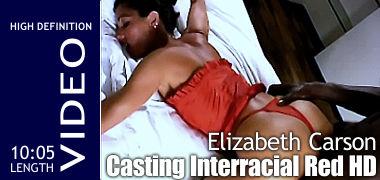 Elizabeth Carson - Casting Interracial Red
