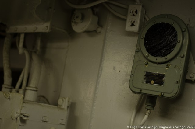 1940s Speaker, USS Yorktown @ Patriots Point, Charleston (South Carolina)
