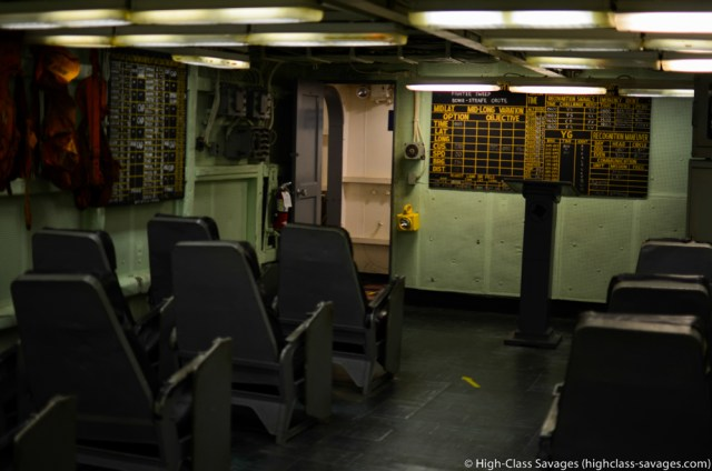 Ready Room, USS Yorktown @ Patriots Point, Charleston (South Carolina)