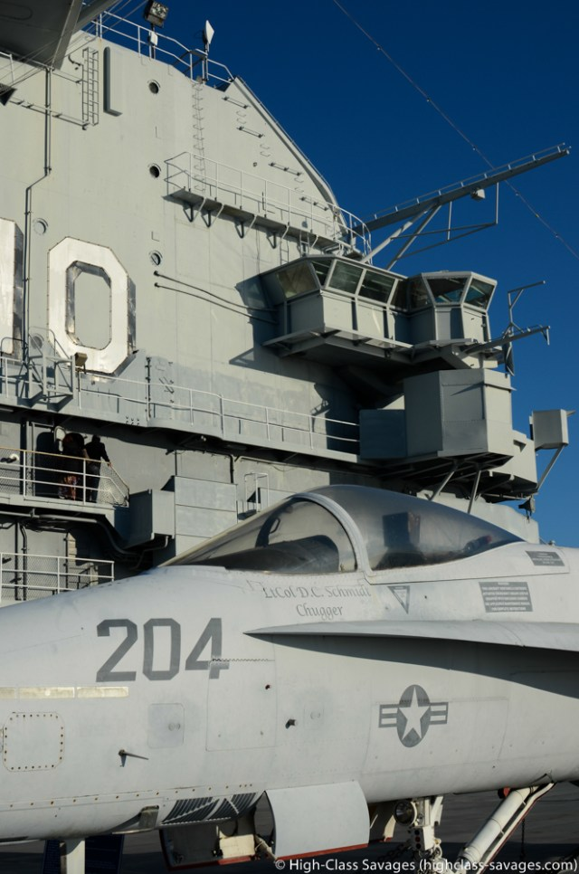 USS Yorktown Flight Deck @ Patriots Point, Charleston (South Carolina)