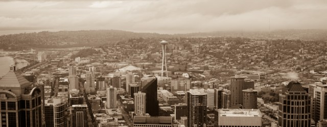 Space Needle @ Columbia Center Tower, Seattle, Washington