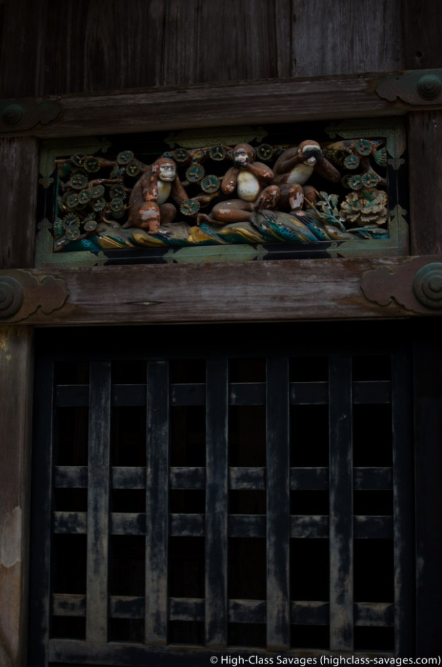 See No Evil, Speak No Evil, Hear No Evil @ Toshogu Shrine, Nikko (Japan)