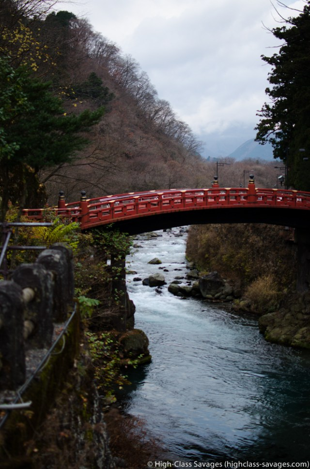 Shinkyo Bridge @ Futarasan Shrine, Nikko (Japan)