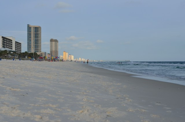 Beach @ Panama City, Landmark Resort, Florida