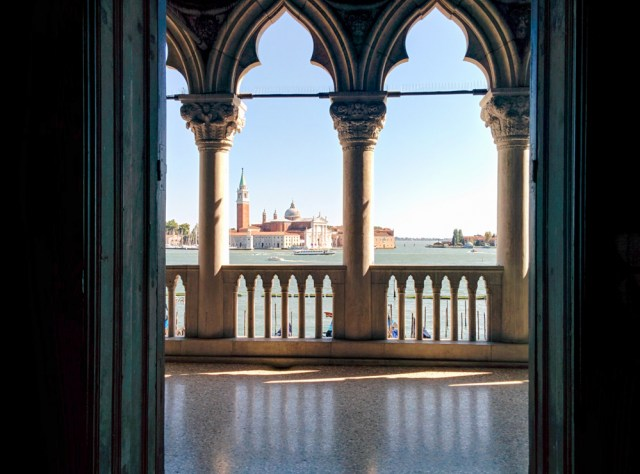 View of Lagoon @ Doge's Palace, Venice, Italy