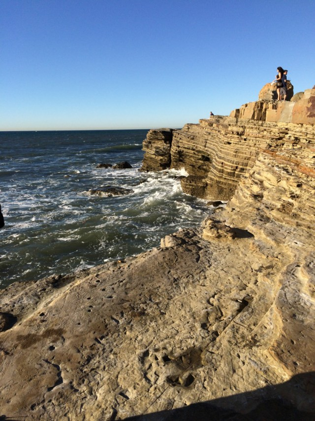Cliffs @ Tide Pools, Cabrillo National Monument, San Diego, California