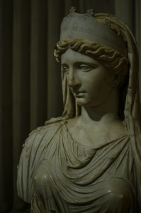 Female Bust @ Borghese Gallery, Rome, Italy