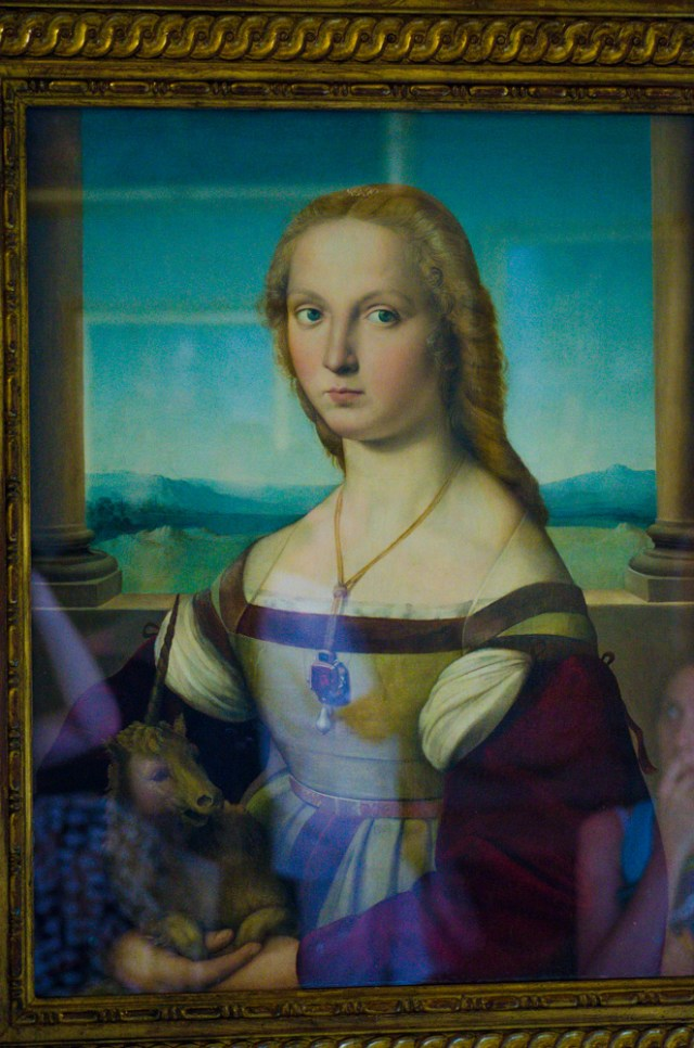 Raphael - Lucrezia @ Borghese Gallery, Rome, Italy