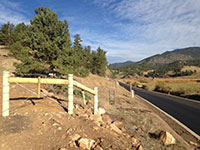 Highway Right-of-way Fence