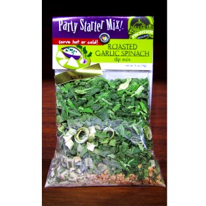 Roasted Garlic Spinach Dip Mix