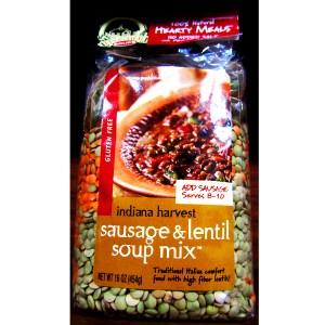Sausage & Lentil Soup Mix