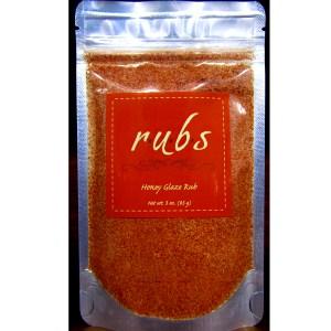 rubs honey glazed