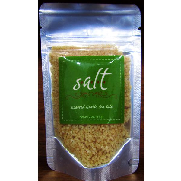 salt roasted garlic