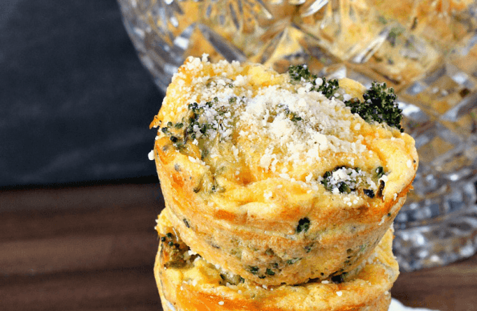 Broccoli and Cheese Egg Muffins | High Country Olive Oil