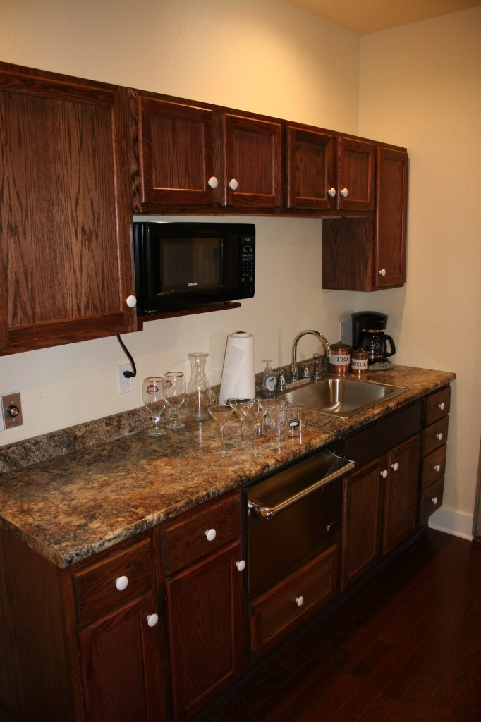 High Court Loft kitchen Lanesboro Mn