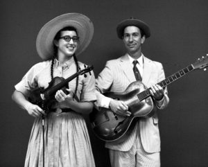 Enchanting harmonies, and note-perfect old-time Fiddle!