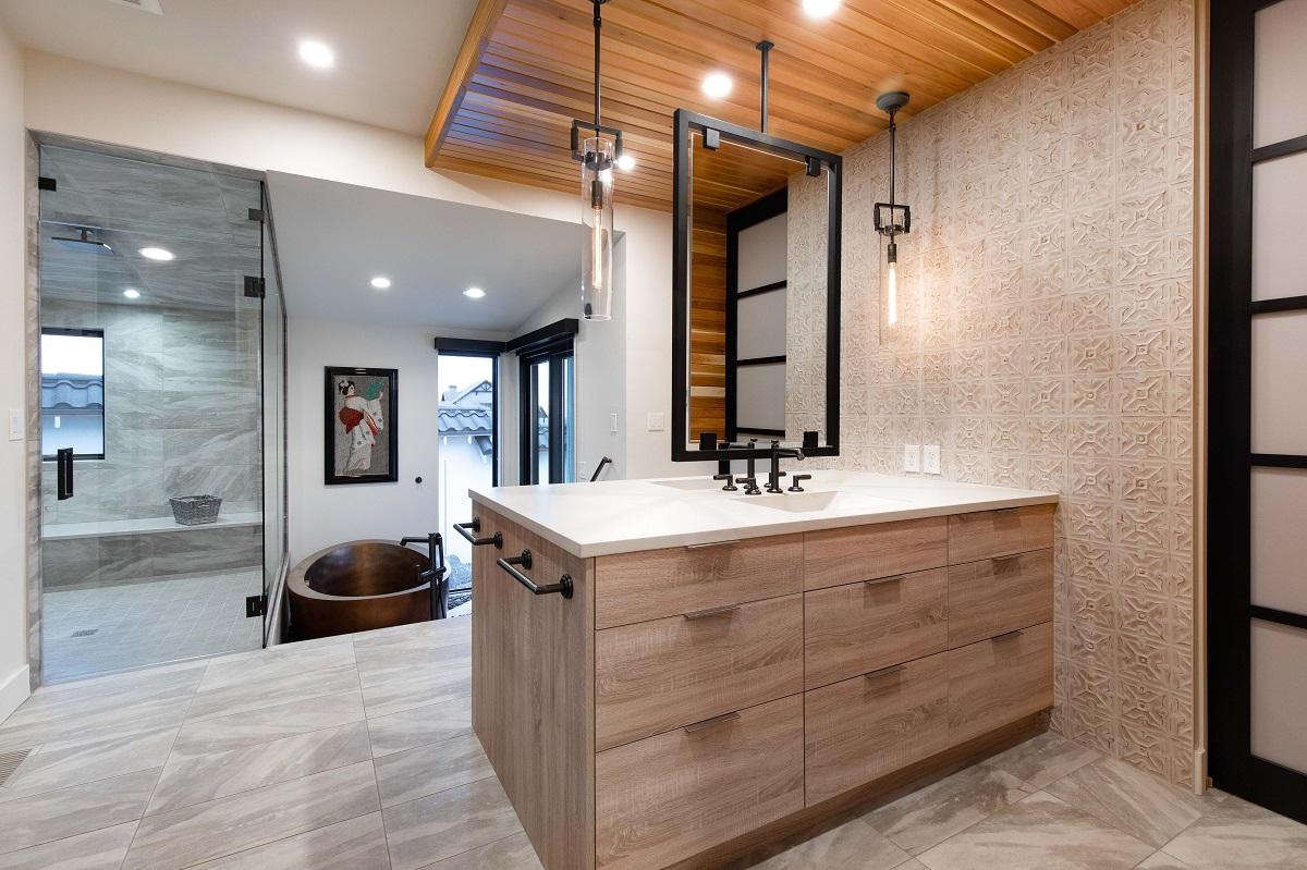 Master Bath Japanese Inspired Highcraft