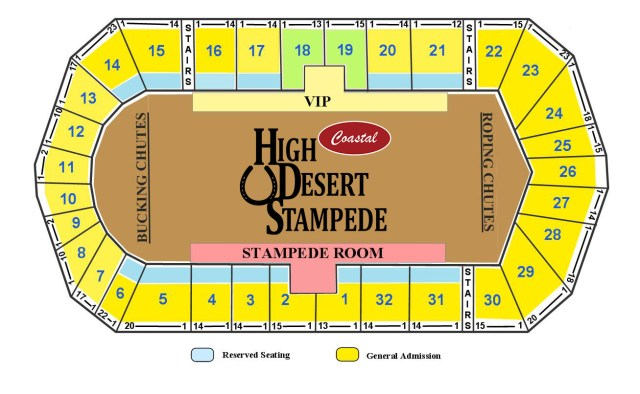 High Desert Stampede Rodeo Tickets Available Here