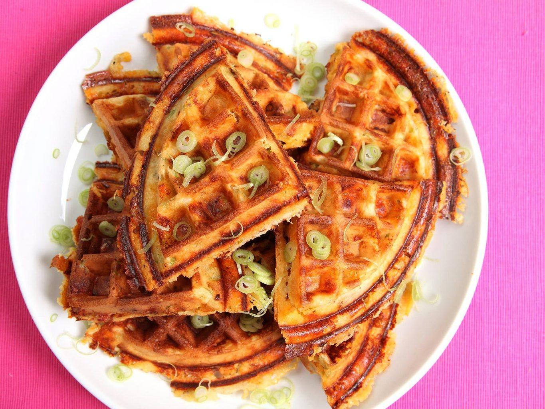 BHO Bacon and Cheese Marijuana Waffles