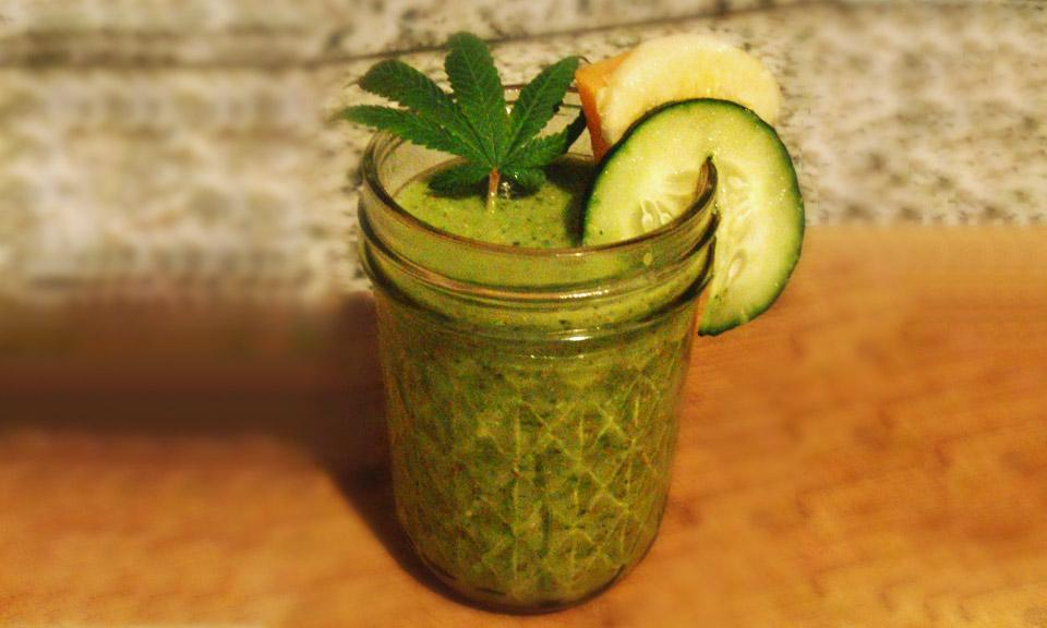 Pot Smoothies: Fruit, Cream and Cannabis