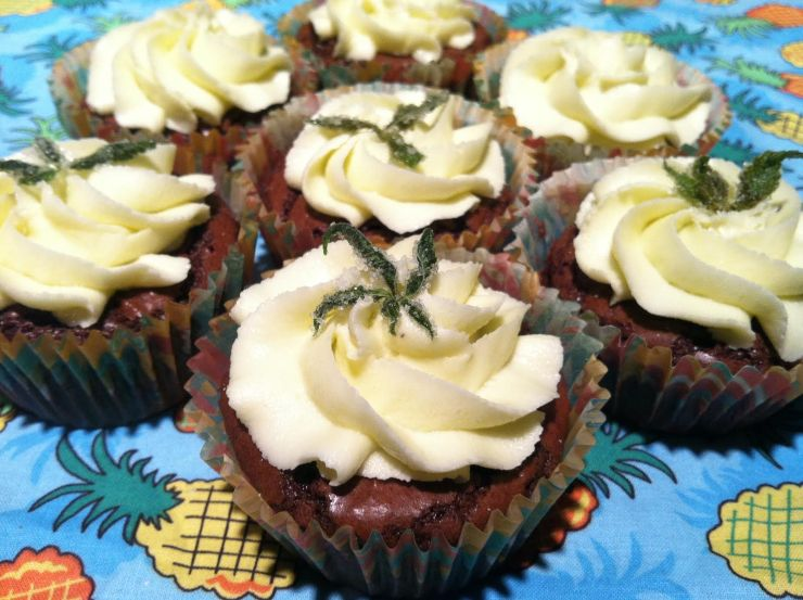 How to Make Cannabis Cupcakes with Frosting