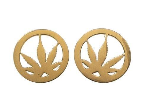 weed earrings for women
