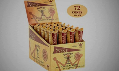Hornet Organic Hemp Rolling Paper