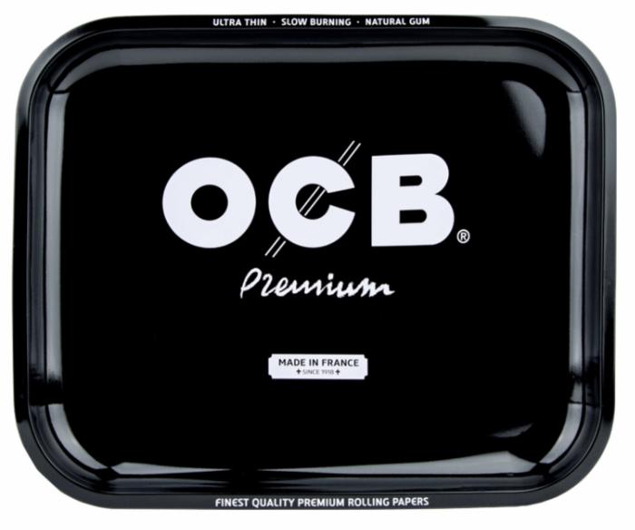 OCB Premium Metal Rolling Tray