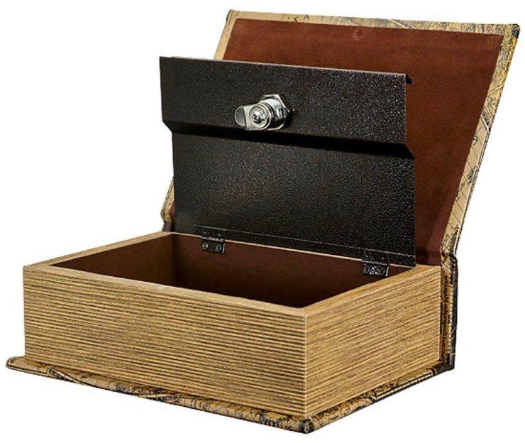 Book of the Dead Locking Book Box
